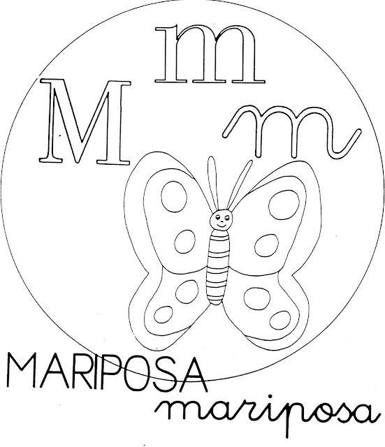 Atividades de Alfabetização coma letra M
