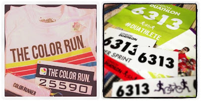 the color run brighton london duathlon