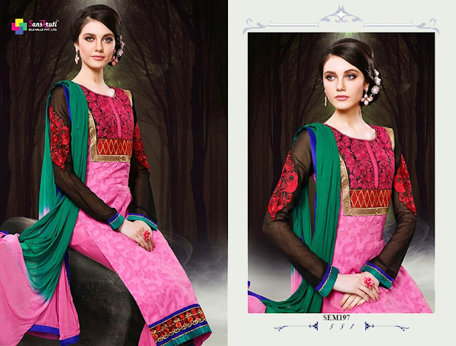 Latest Arrival Pakistani Style Salwar Kameez Collection