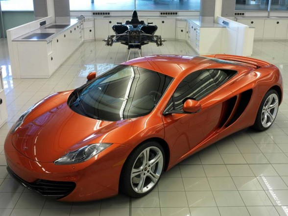 sports cars from McLaren