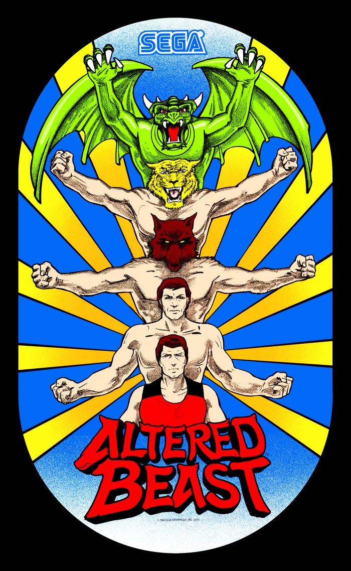 The dork review image blitz dork style for Altered beast