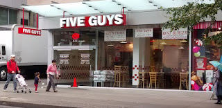 Five Guys Burgers & Fries Storefront