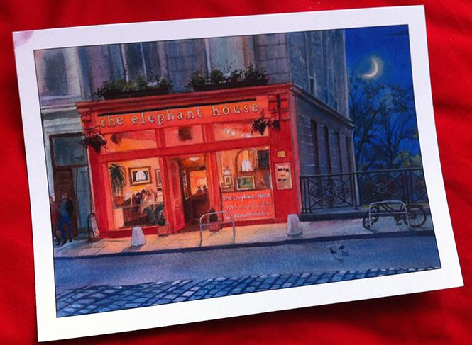cute cafe in edinburgh where jk rowling wrote harry potter