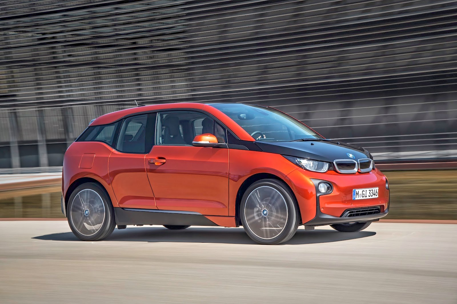 BMW i3 - hatchback electric car