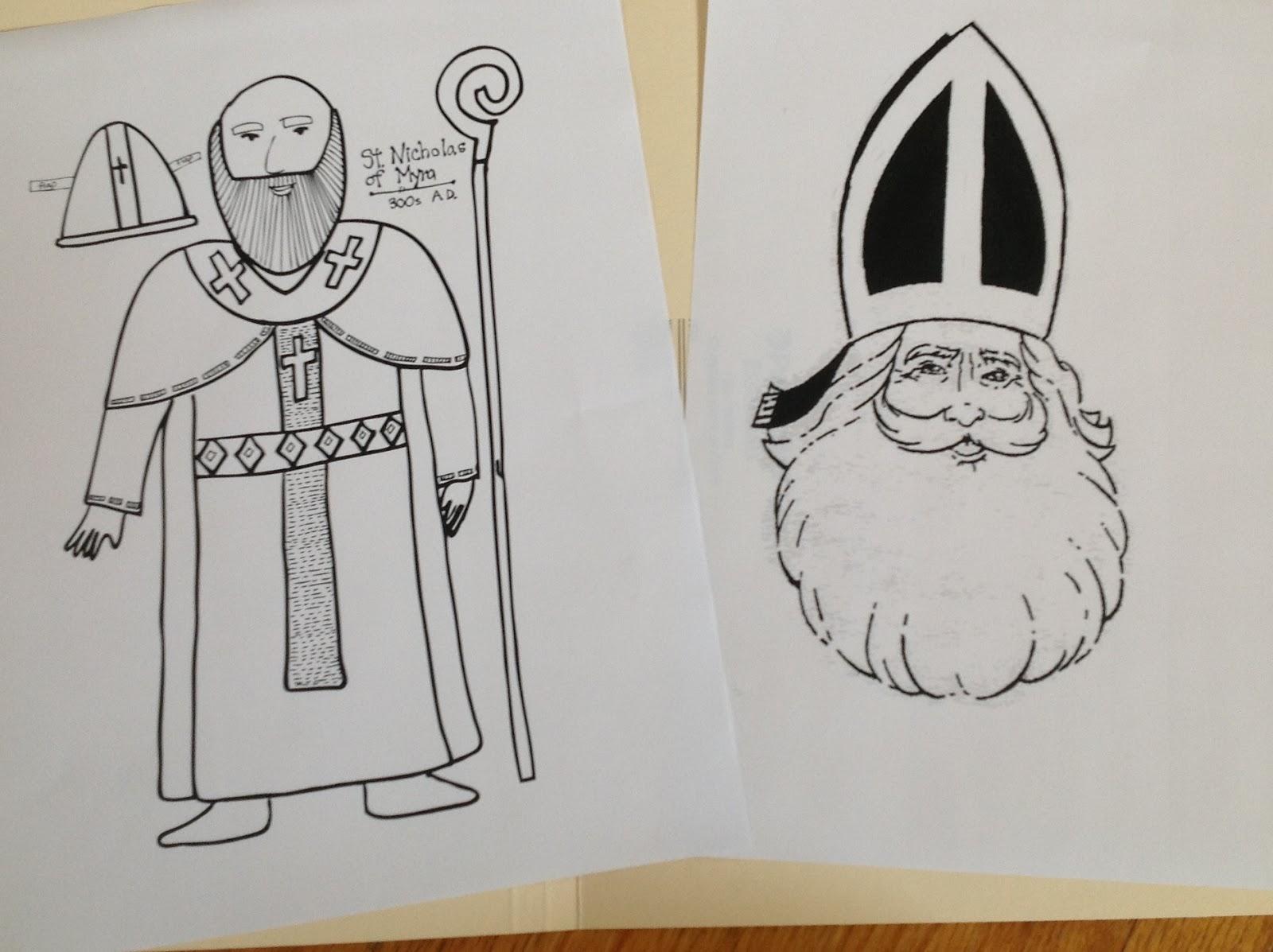 St Bernard Christmas Cards