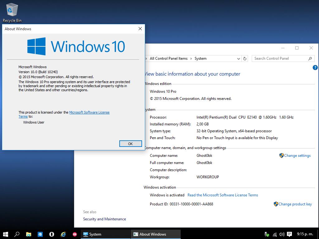 La tecnoguia windows 10 pro lite 32 y 64 bits mega for Windows 10 pro