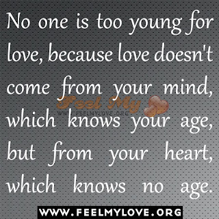 No one is too young for love