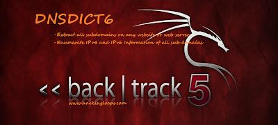 DNSDICT6 Tutorial