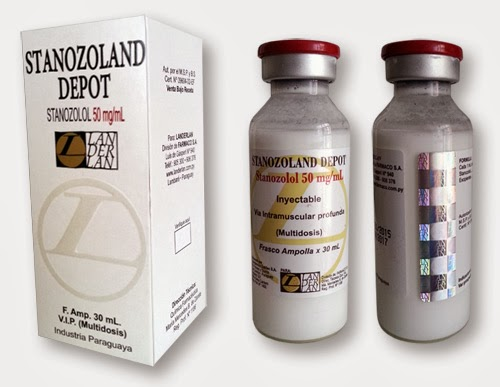 estanozolol inyectable dolor