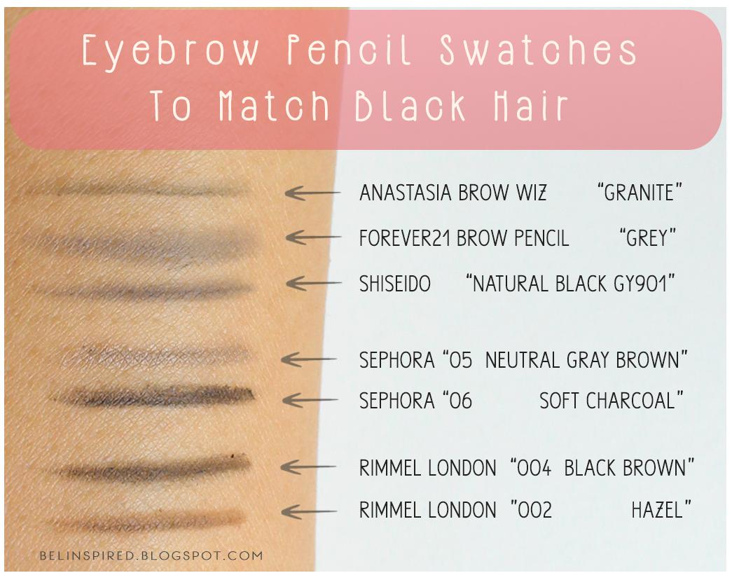 Sephora retractable brow pencil vs anastasia brow wiz – Trend ...
