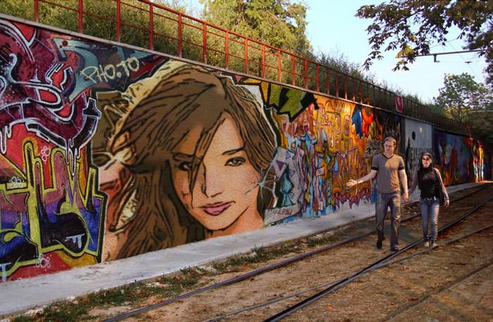 Как сделать граффити на машине в аватарии