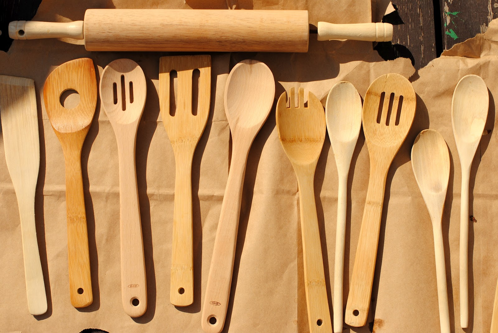 After Seeing These And These, I Gathered Up All Of My Wooden Spoons And  Utensils. Great Pictures
