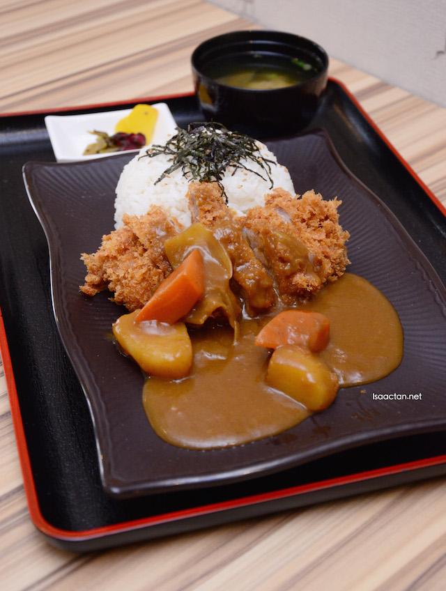 7. Katsu Curry Rice - RM16.50