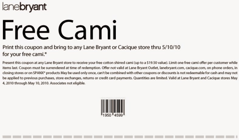 Lane bryant discount coupons