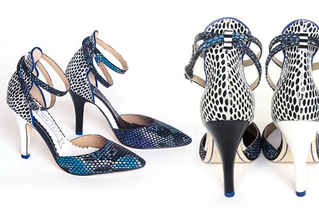 Sara Melissa Designs, Yin Yang shoes, snake print shoes