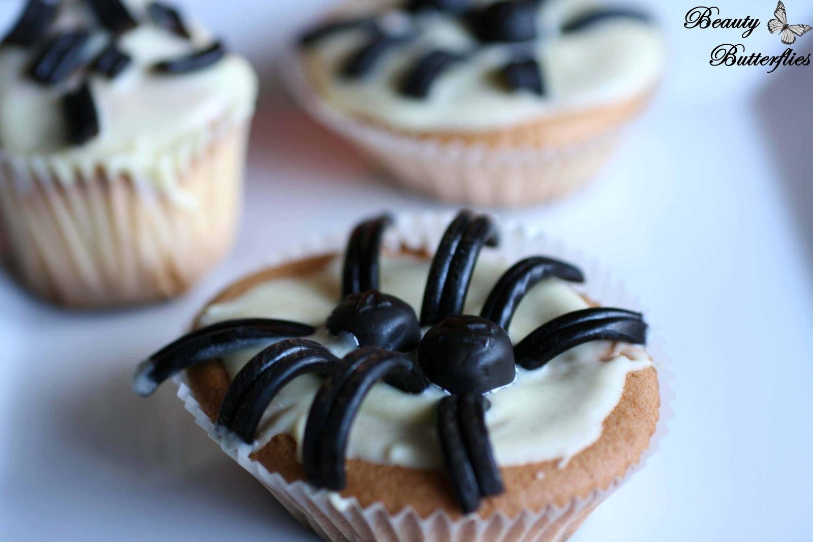 Spinnen Muffins Fr Halloween Rezepte Suchen
