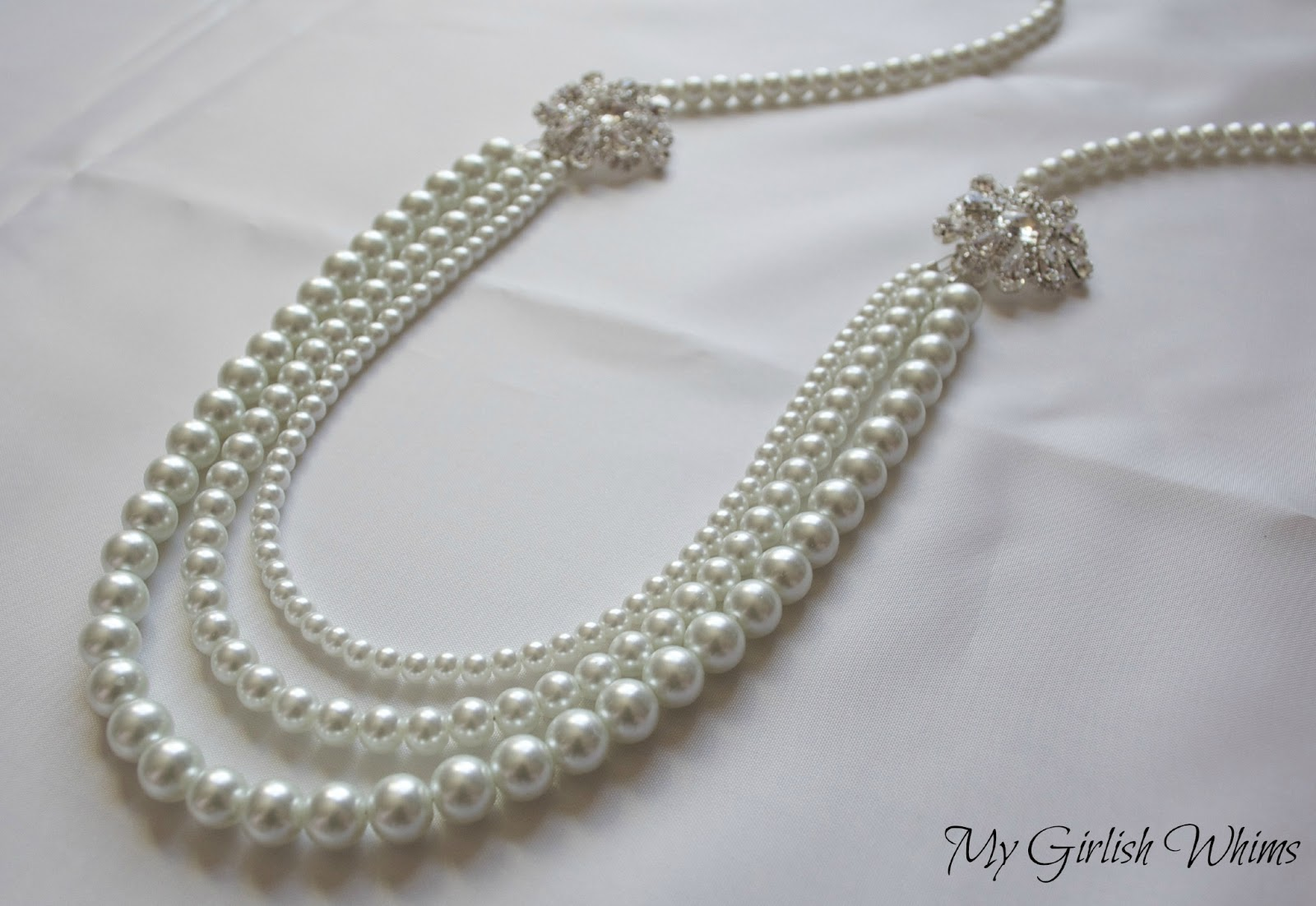 Elegant Pearl Wedding Necklace Diy With David Tutera Bridal