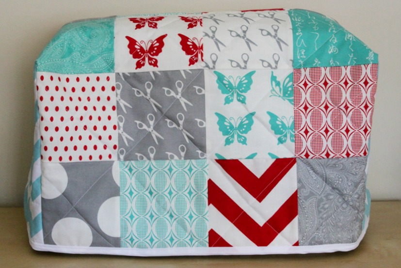 Quilted Sewing Machine Cover Tutorial Sew Delicious Amazing Sewing Machine Cover Patterns