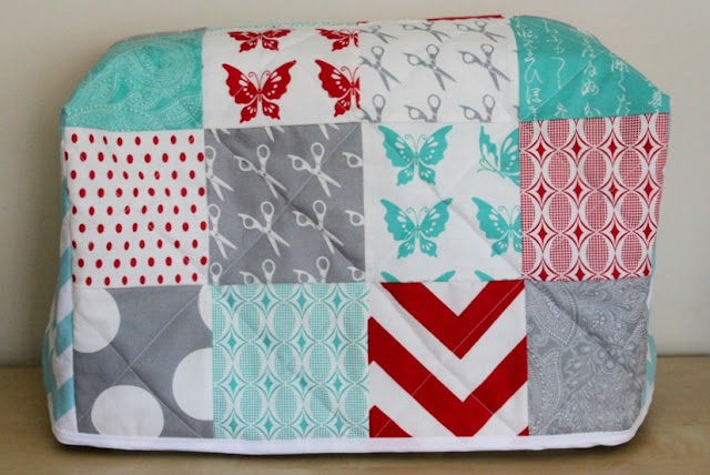 sew a sewing machine cover