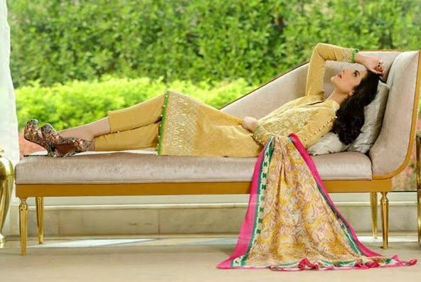 Crescent Luxury Silk-Chiffon-Jacquard 2014