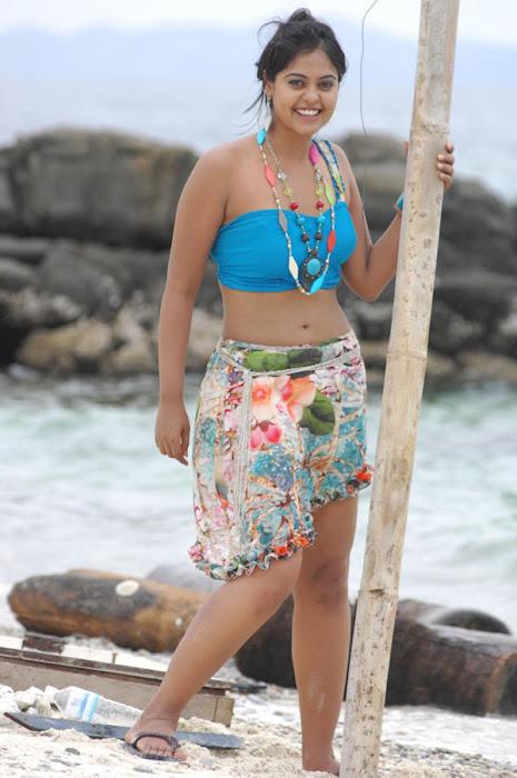 bindu madhavi in spicy beach song latest photos