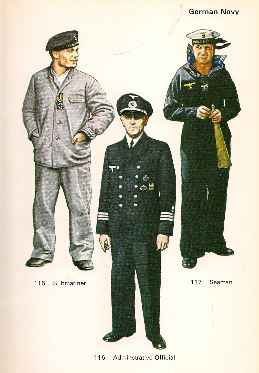 Uniforme naval de la Segunda Guerra Mundial
