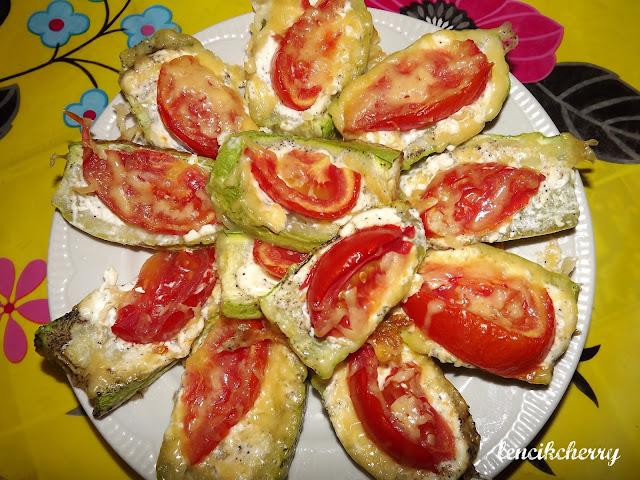 кабачки помидоры
