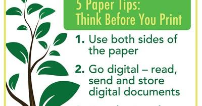 Veesham Printing Press 5 Paper Tips Think Before You Print
