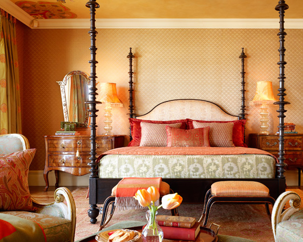 Inspiration treasures color inspiration coral pink - Moroccan style bedroom ...