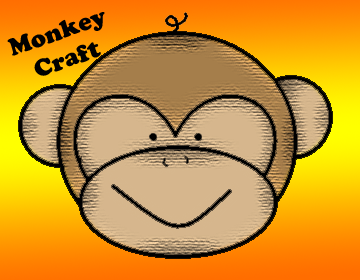 "Monkey Craft- ""Bananas For Jesus"""