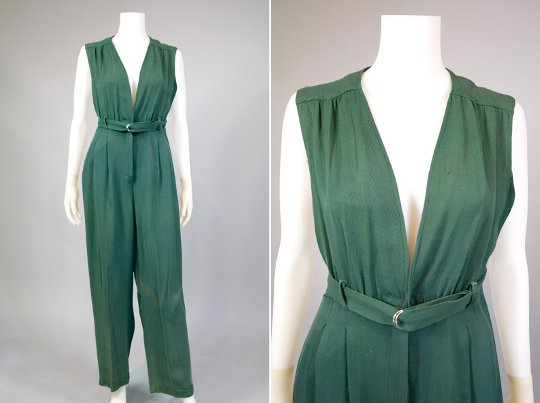 World War II Style Utility Jumpsuit