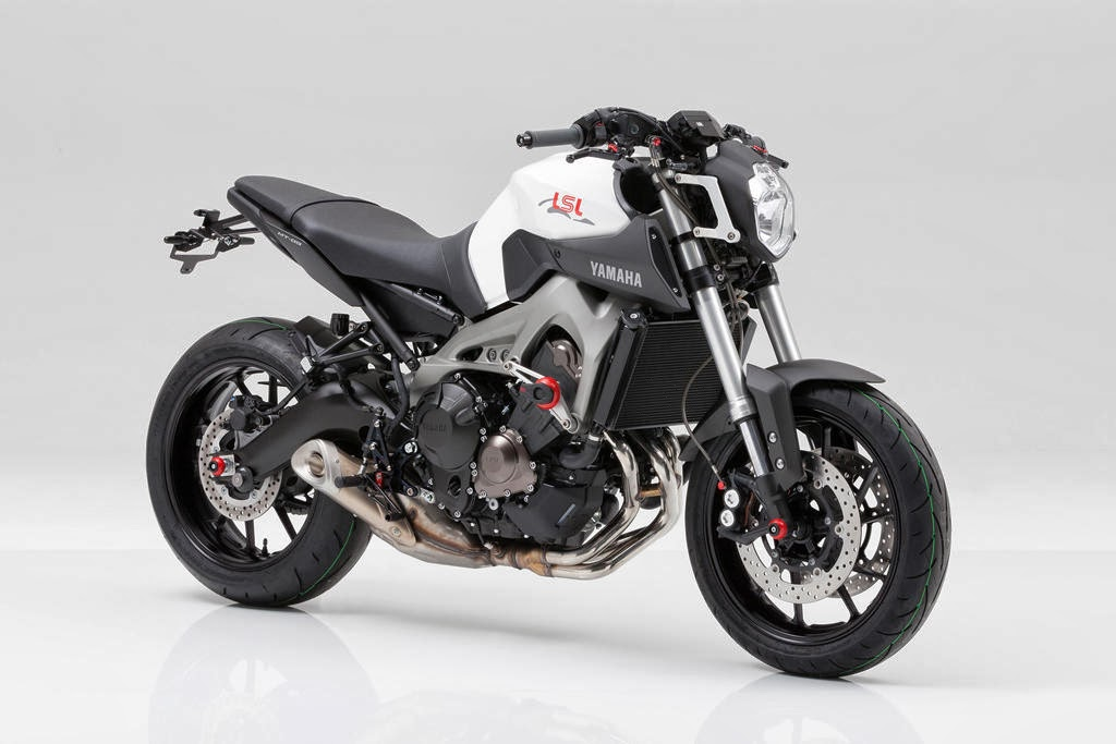Racing Caf&232 Yamaha MT 09 By LSL