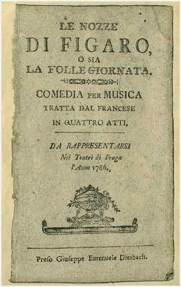 Las Bodas de Fígaro - W.A. Mozart