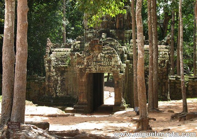 Ta-Som-Angkor-puerta oeste