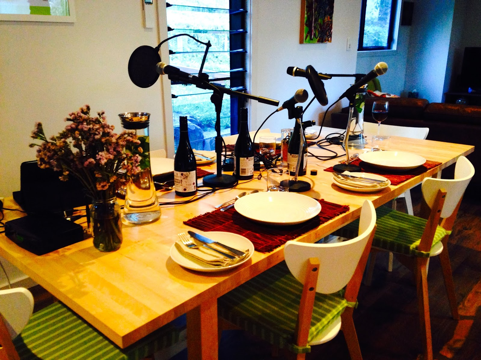 Another Boring Thursday night in Adelaide - Podcast set-up