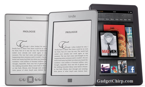 Amazon launches Kindle E-Readers and Tablets in India
