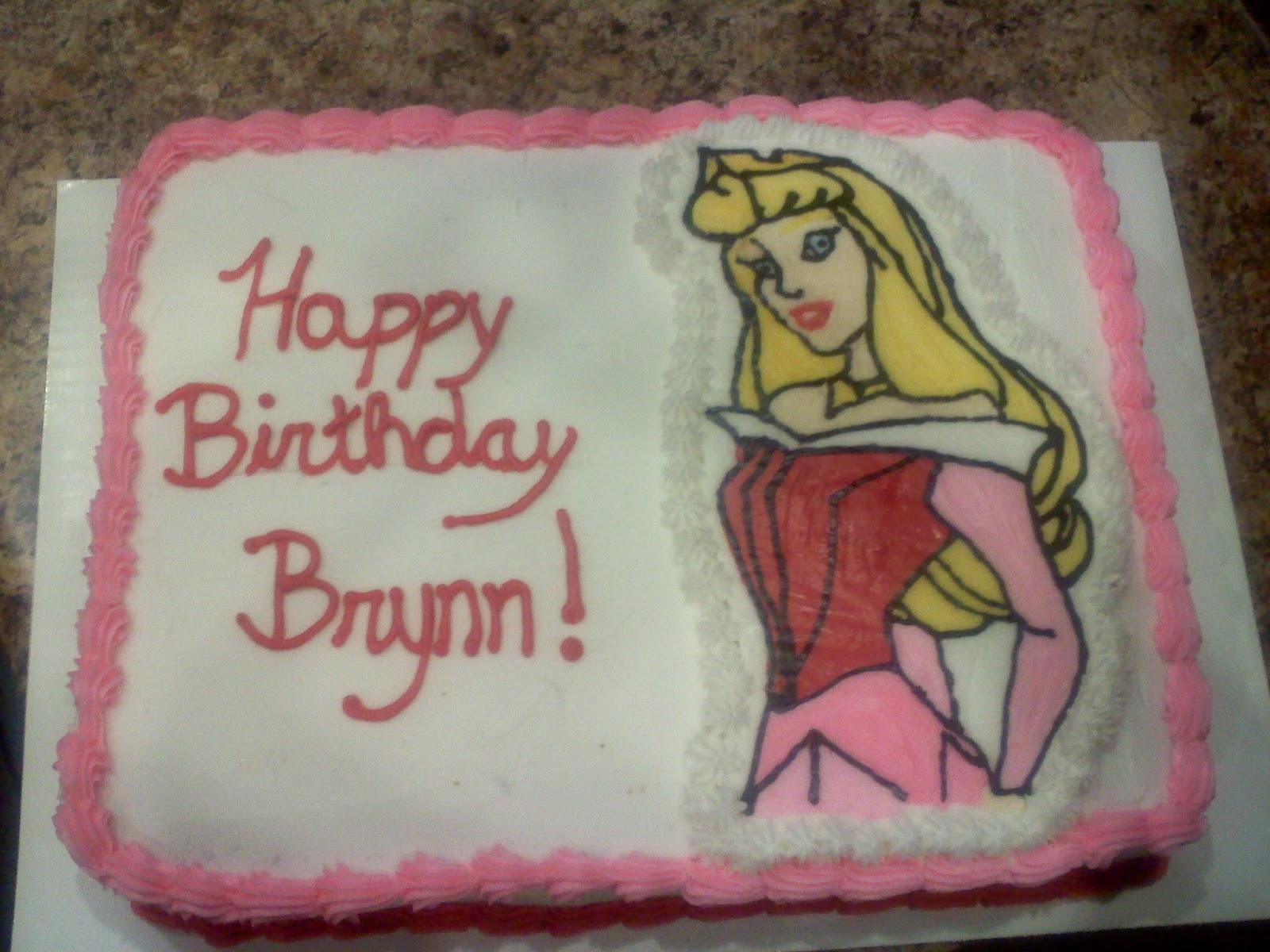 Dexters Desserts Princess Aurora