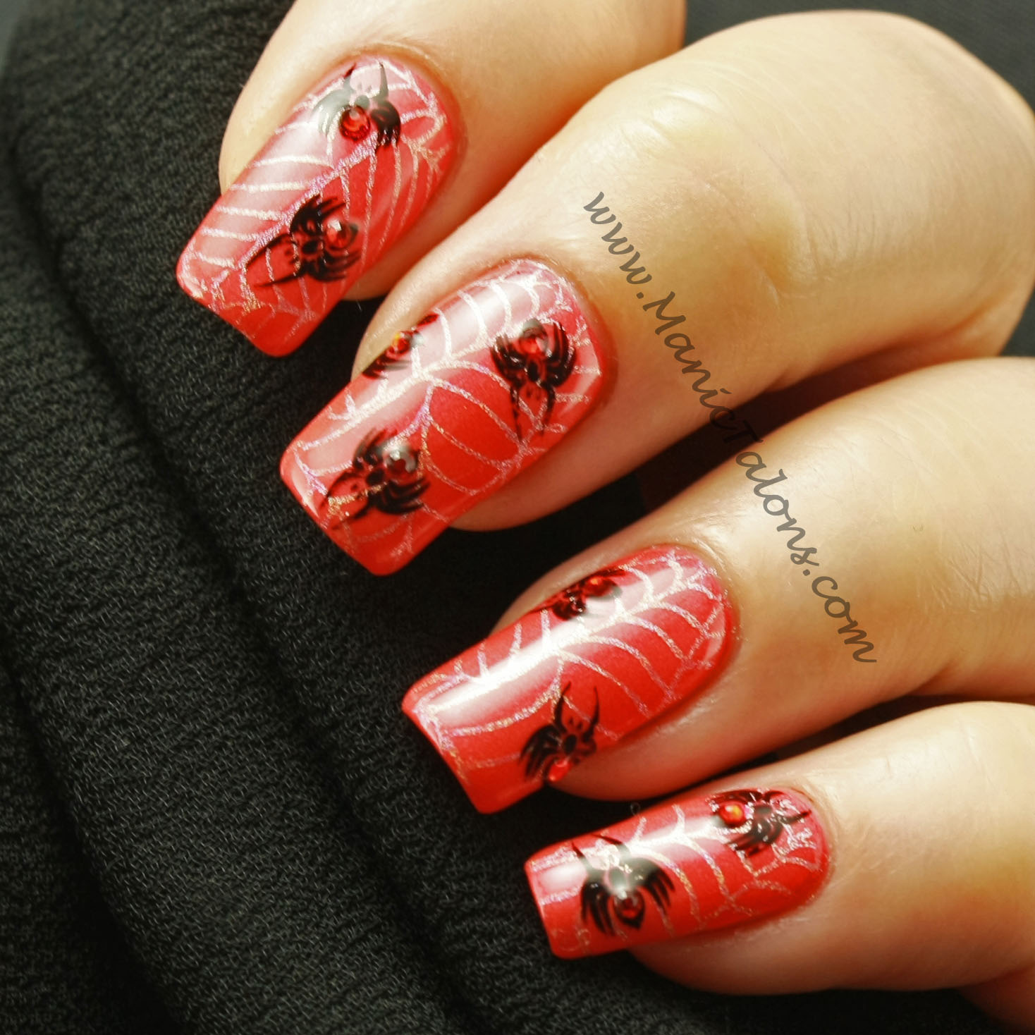 Manic Talons Nail Design Weekly Mani Happy Halloween