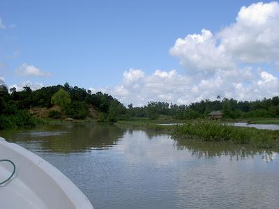 Teknaf Naf river
