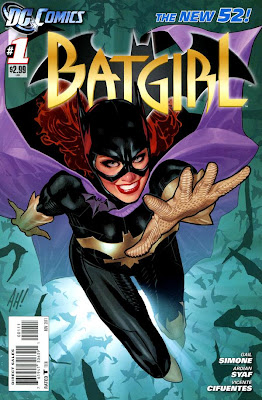 Batgirl Issue #1 Cover Artwork