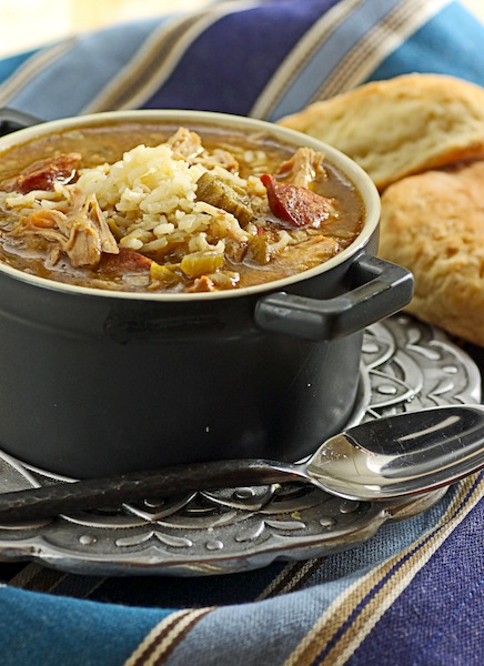 Theres A Newf In My Soup The Daring Cooks Let The Good Times Roll