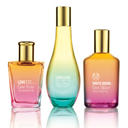 The Body Shop introduces summer fragrances