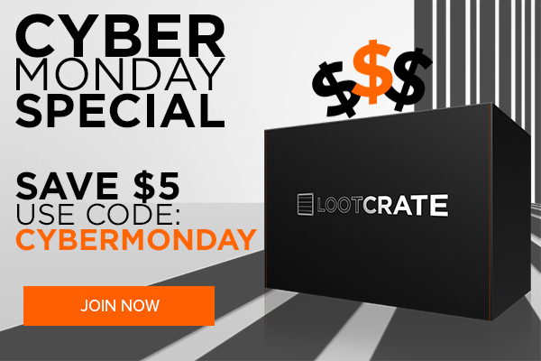 loot crate cyber monday deal 2014