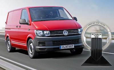 """Το Volkswagen Transporter """"Διεθνές Van της Χρονιάς"""""""