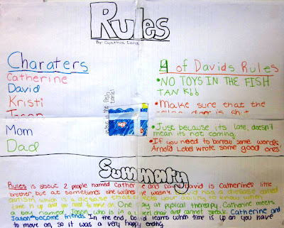Rules by cynthia lord book report