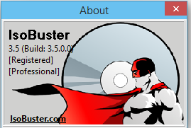 IsoBuster Pro 3.5 Build 3.5.0.0 Full Licence