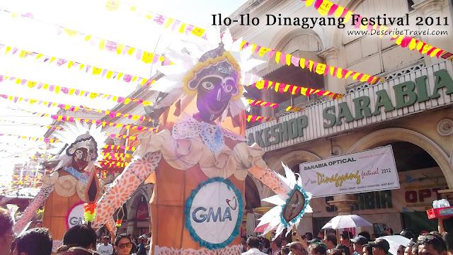 iloilo dinagyang festival 2011 GMA network parade