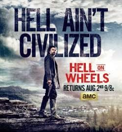 Hell on Wheels Temporada 4 online