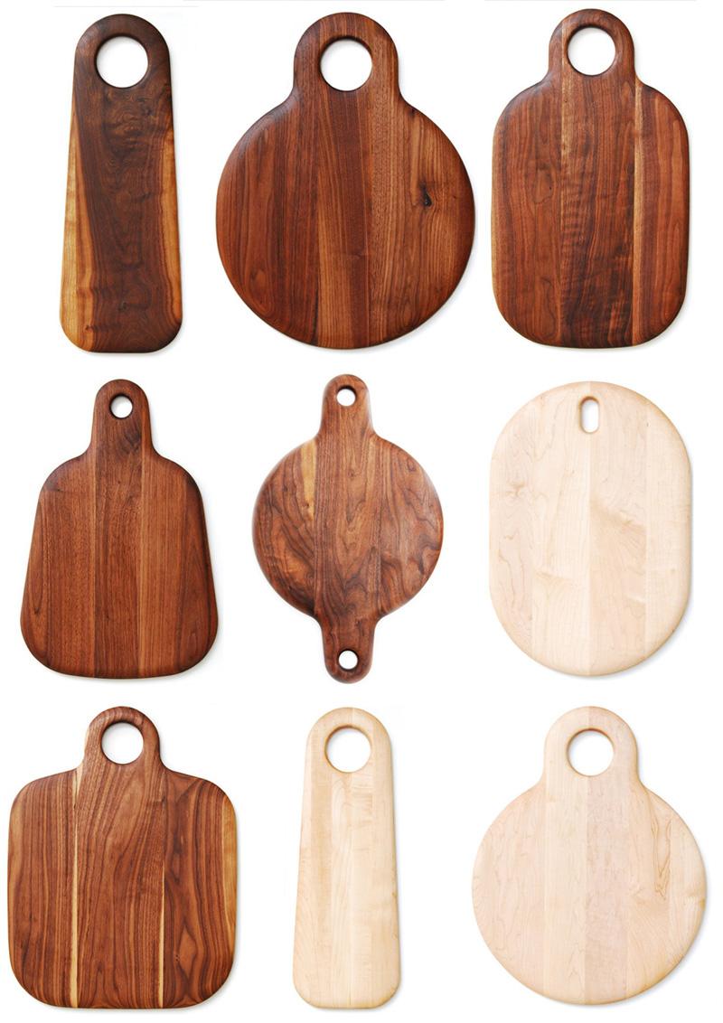 Carpinteria y tallado de madera tablas para la cocina ii for Tablas de corte cocina