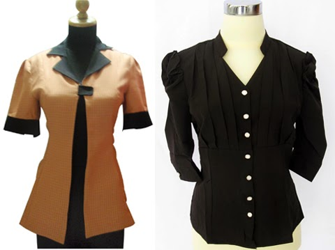 model baju kantor modis
